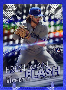 2020 Topps Chrome Bo Bichette RC Freshman Flash Insert Card #FF-1🔥📈🔥📈