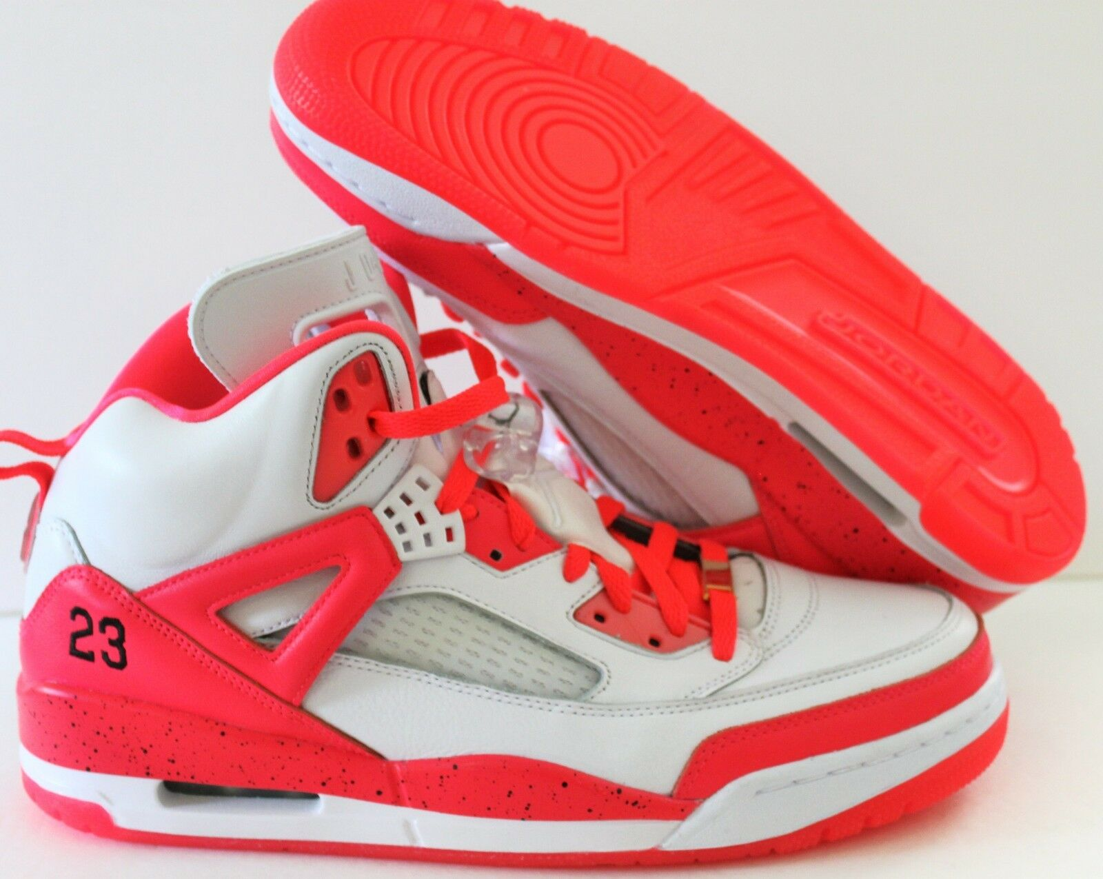 NIKE AIR JORDAN SPIZIKE iD WHITE-BLACK-PINK 12 SZ 12 WHITE-BLACK-PINK  [605236-971] 26a2a2