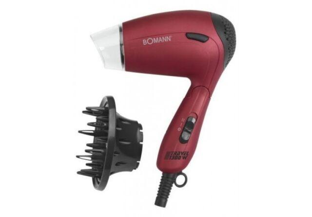 Asciugacapelli da viaggio diffusore bomann asciuga capelli htd 8005 1300 w Rotex