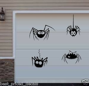 Spiders ~ Qty 30 ~  Halloween Wall or Window Decals