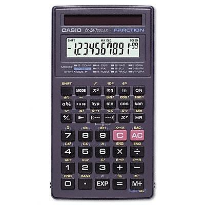Casio FX260 SOLAR II Solar Scientific Calculator, FX260