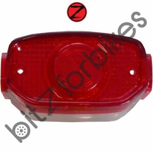 Details about Taillight Lens Yamaha RD 125 DX (Cast Wheel) 2R6 (1980-1981)