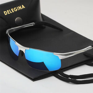 be9940fad5b Image is loading New-Polarized-Sunglasses-Mens-Outdoor-Driving-Fishing -UV400-