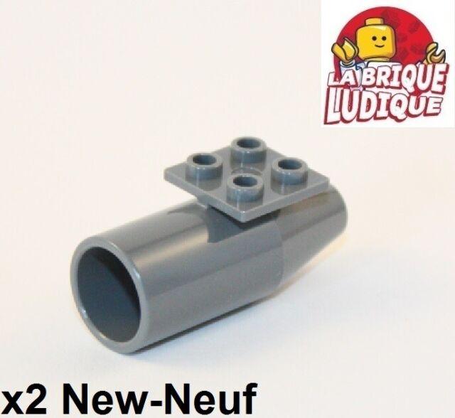 LEGO 6 x Turbine neues dunkelgrau Dark Bluish Gray Engine Smooth Large 2x2 4868b