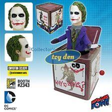 Batman Dark Knight - The JOKER Jack in the Box Convention Exclusive