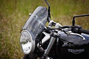 DART FLYSCREEN Windshield TRIUMPH STREET TWIN Midnight Tint STW01M