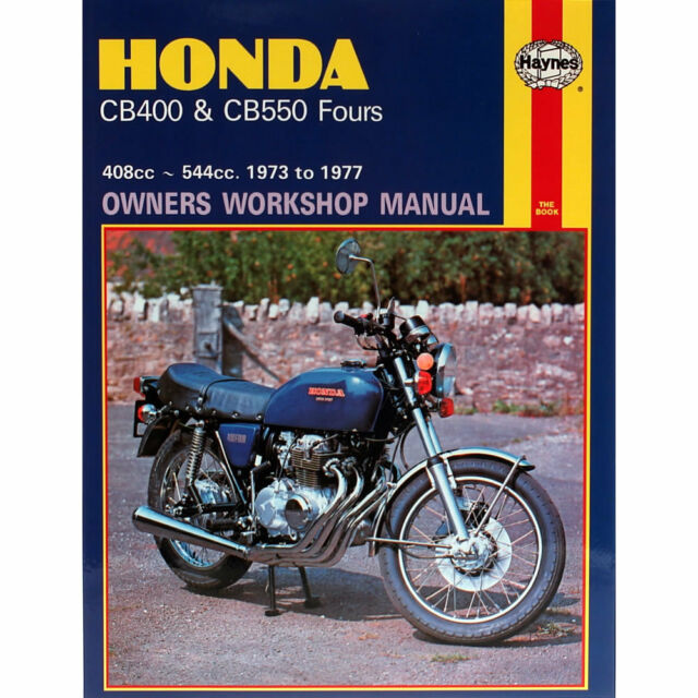 haynes honda cb400 cb550 fours 1973 1977 motorcycle workshop rh ebay co uk 2017 Honda CB400 Honda CB200