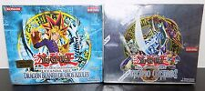 2 NEW Yugioh SPANISH Booster Box: Dark Beginning 2 & Legend Of Blue Eyes SEALED