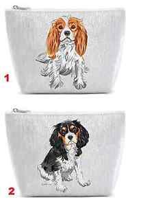 Cavalier King Charles Spaniel Hund Kosmetik-Etui Kosmetiktasche cosmmetics KK3