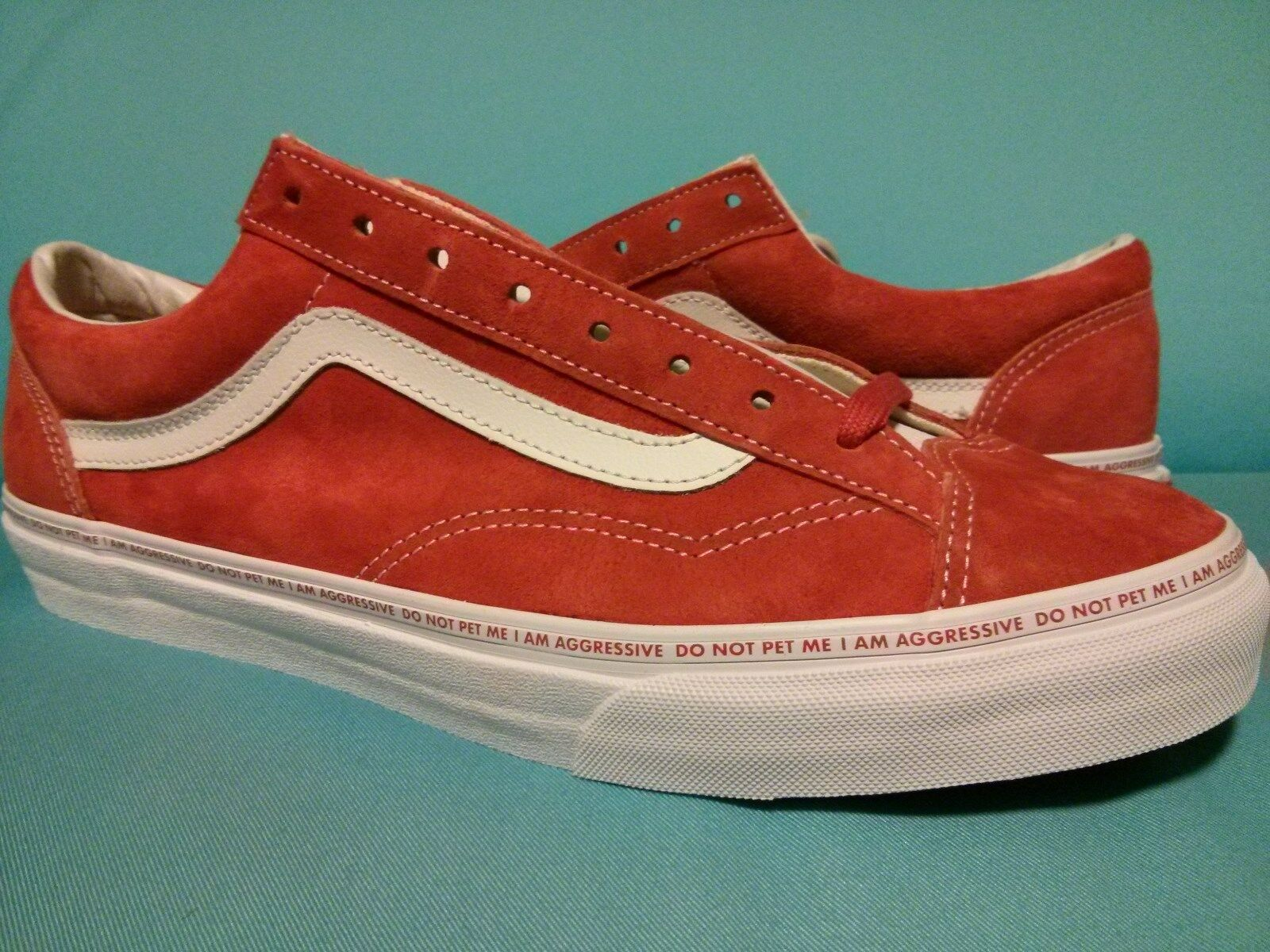 DS 2018 VANS STYLE 36 YEAR OF DOG x Sankuanz VN0A3DZ3PYE FieryRed OLD SKOOL SZ11