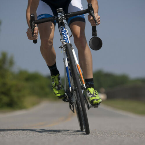 Black 360° Adjustable High-Quality Road Bicycle Drop Bar Rear View Mirror