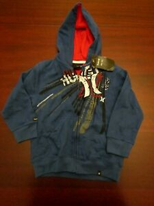 boys-hurley-sweatshirt-hoodie-jacket-S-5-nwt-blue
