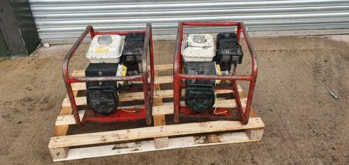HONDA 2.4 KVA GENERATOR HONDA 110 VOLT GX200 PETROL SITE GENNY ELECTRIC GENNY