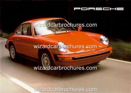 1977 PORSCHE 911 2.7 A3 POSTER AD SALES BROCHURE ADVERTISEMENT ADVERT
