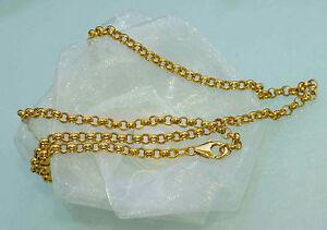 Exclusive Halskette 750 Gold 18 Kt Goldkette 45 Cm Neu Etwas Ganz Besonderes