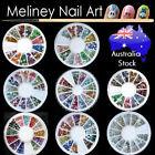 Nail Art Rhinestones wheel Craft Gems decorations Bling Crystal diamantes