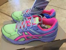 Girls Asics Tennis Athletic Shoes New Size 1 Gel Contend 3