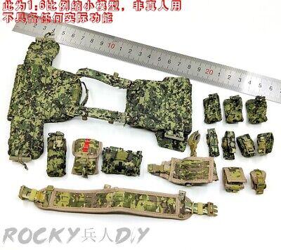 1//6 Armshead AES001 Navy SEALs Gear DEVGRU Softshell Shirt