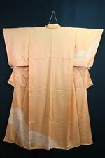 10v6550 Silk Tall Japanese kimono Robe Dress Houmongi with Shibori