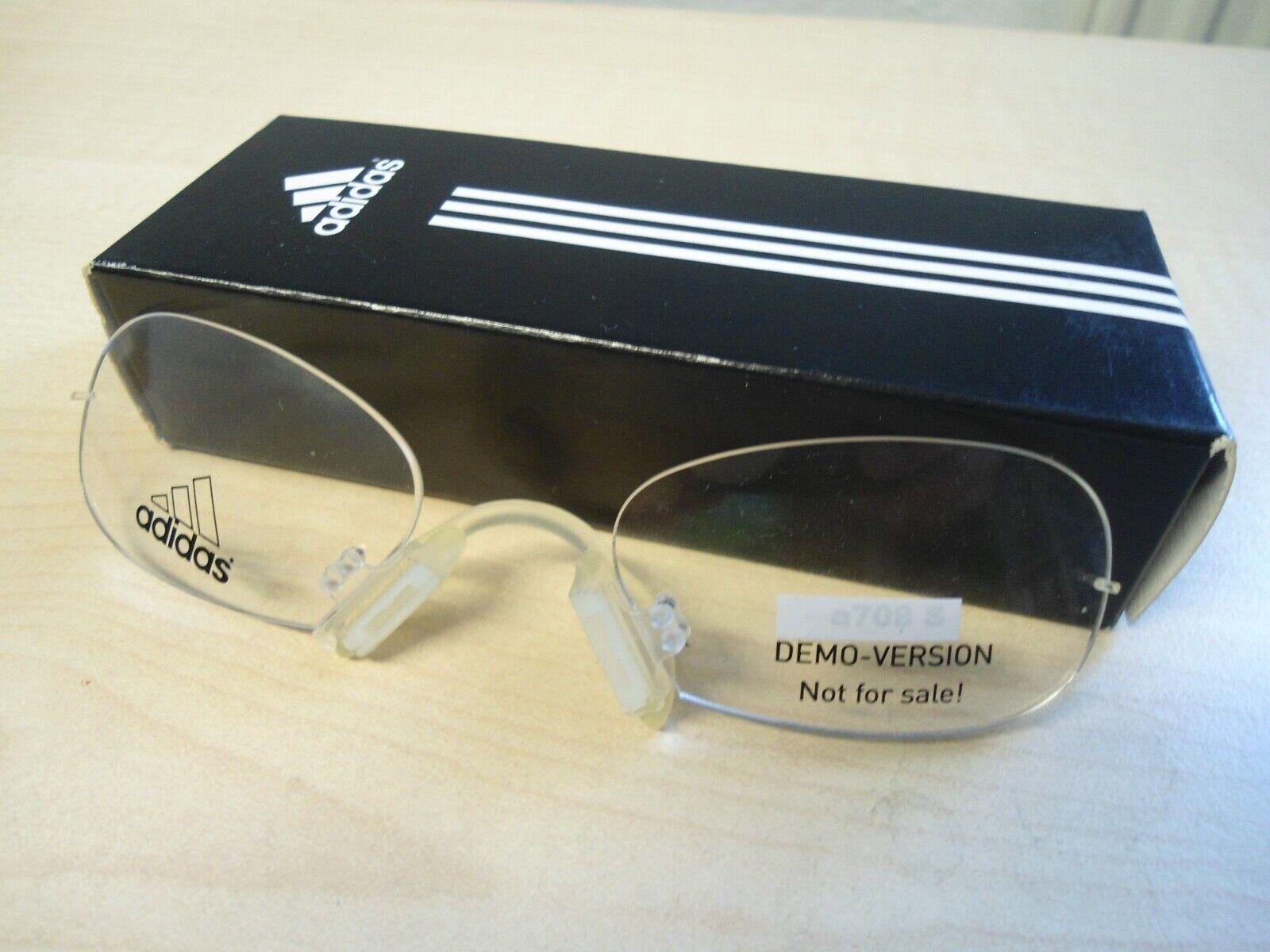 Adidas Clip In a 715 passend mit Sehwerten für sehr viele Adidas Brillen möglich