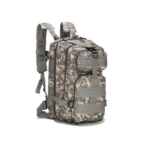 Military Tactical Camouflage Large Capacity Backpack for Outdoor Camping Hiking