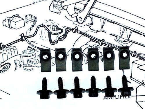 Pontiac GTO Trans am Firebird Front Fender Wheel Well Hardware Bolts 12pcs OB