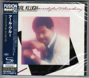 Sealed-EARL-KLUGH-Wishful-Thinking-JAPAN-SHM-CD-UCCU-90198-w-OBI-2015-reissue