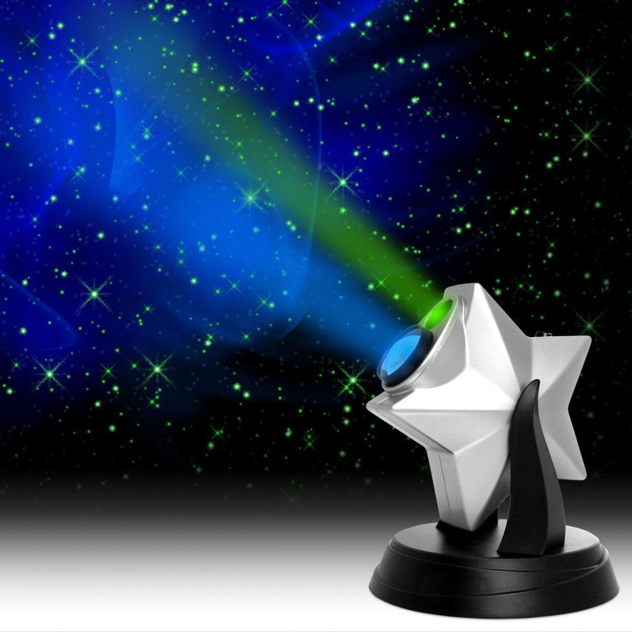Lazer estrellas Astronomía Proyector Espectáculo de Luz De Noche Azul Cielo Nebula nube Galaxy