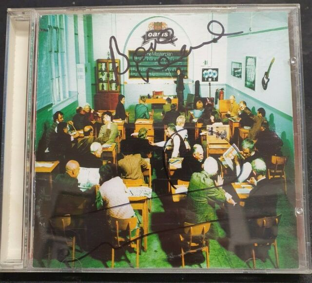 OASIS - Signed CD by Noel & Bonehead - The Masterplan - MUSIC