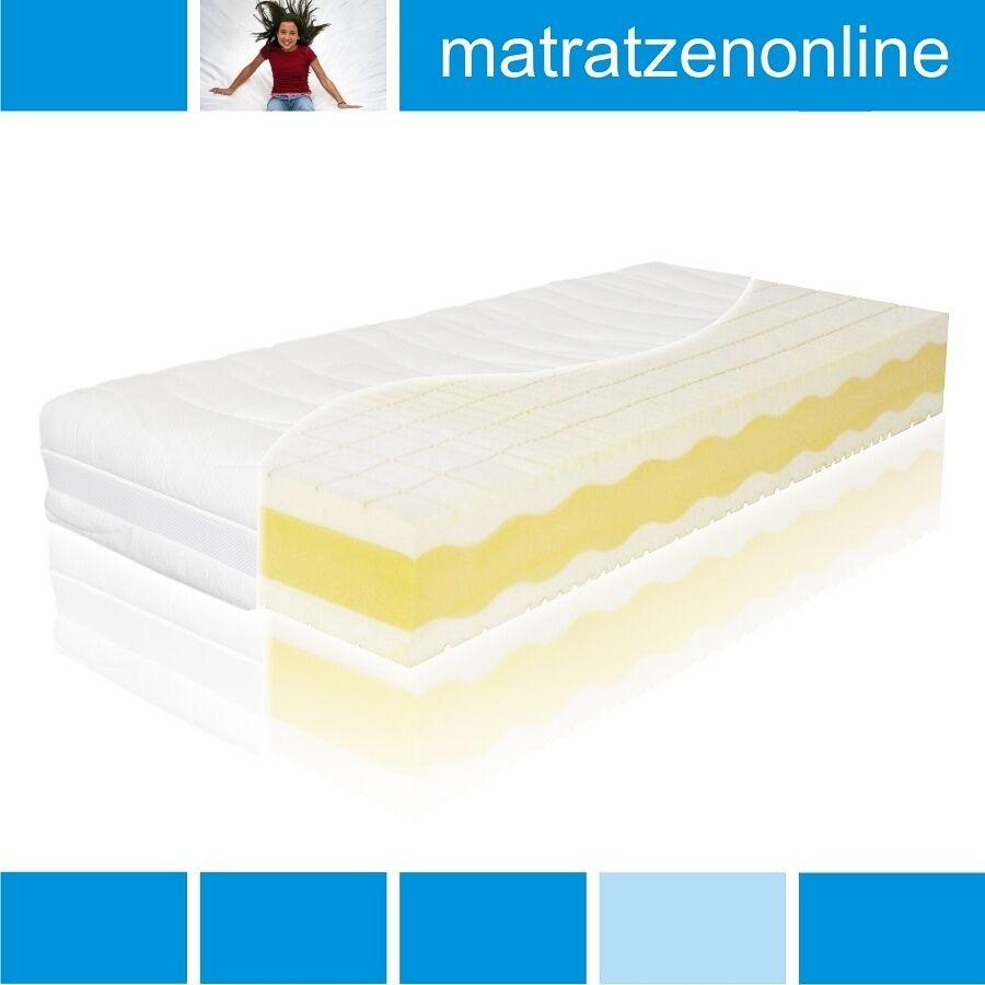 Orthopädische Premium-Kaltschaummatratze 9-Zonen 3D Würfelschnitt Sandwichsystem