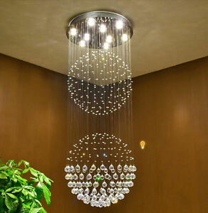 Villa stairs chandeliers long chandeliers staircase hotel crystal image is loading villa stairs chandeliers long chandeliers staircase hotel crystal aloadofball Choice Image
