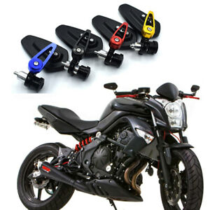 "Universal 7/8"" Motorcycle Handle Bar End CNC Mirrors For Honda Suzuki Yamaha"