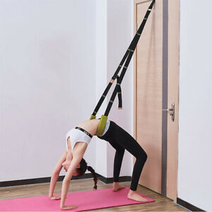 LN-Back-Bend-Assist-Sneaker-Yoga-Gymnastik-Flexibilitaet-Stretching-Riemen-Belt