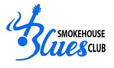 Funda de Guitarra Blues Club Pegatina Calcomanía Casa de humo caso de instrumentos De Jazz