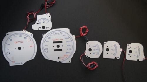 Dodge Stealth glow gauges dials plasma dials kit tacho glow dash ...