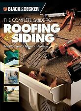 Black & Decker The Complete Guide to Roofing & Siding: Install,-ExLibrary