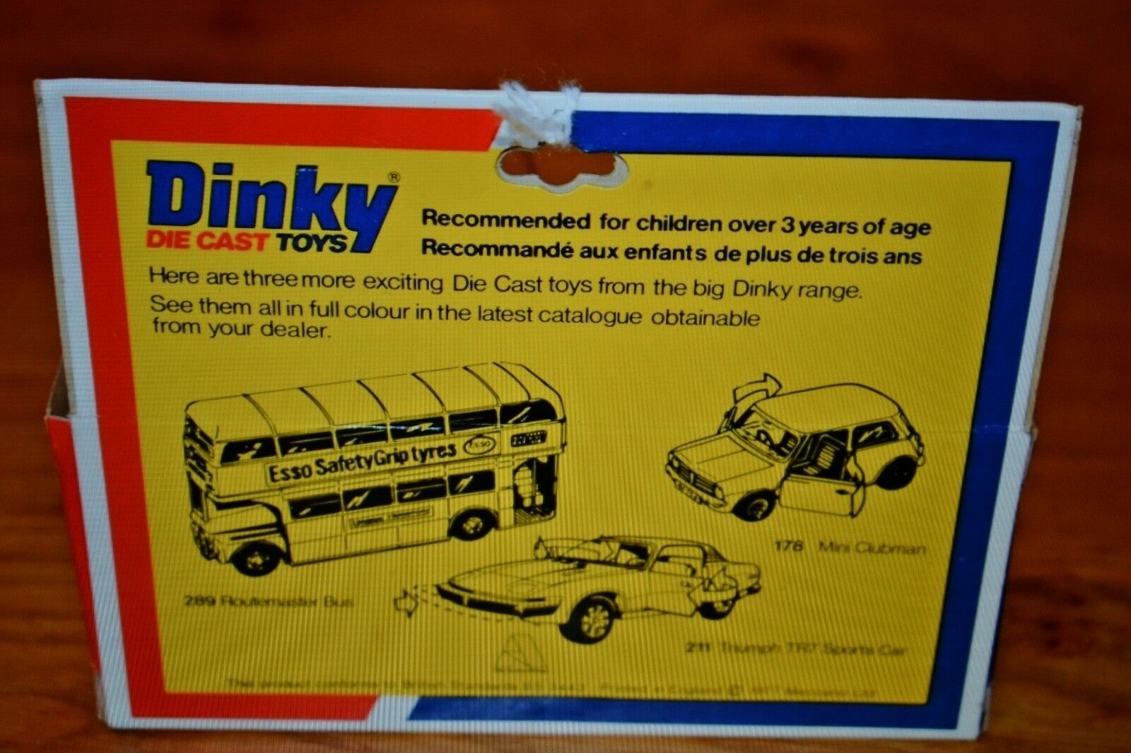DINKY Die Cast Toys 284 LONDON TAXI in original original original BOX 8972f2