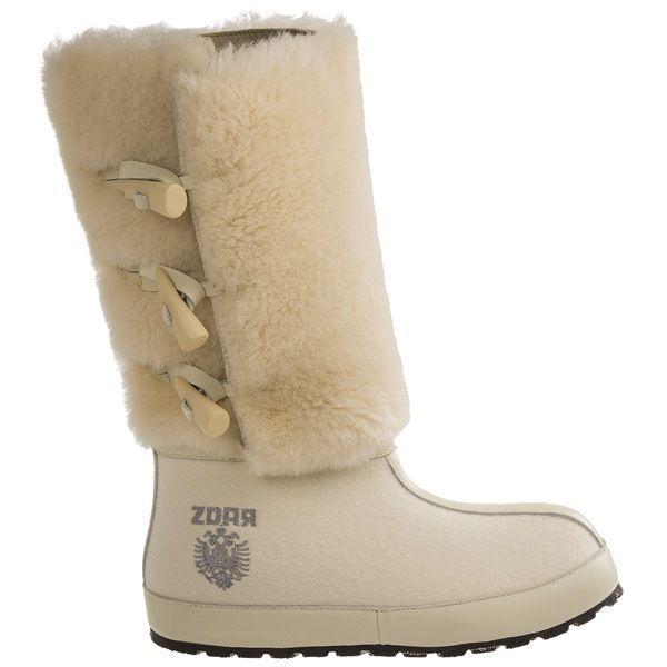 ZDAR Aliona Cream 7 Winter Stiefel Size 6, 7 Cream & 10 Available- Brand New 06b08e