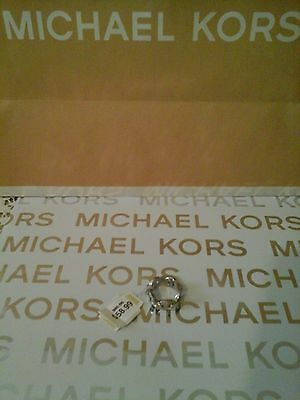 MICHAEL KORS CRYSTAL (HERITAGE MARITIME) RING - MKJ39940407 - NEW WITH TAGS