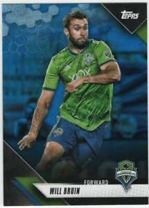 2019 Topps Mls Soccer Blue Parallel 99 128 Will Bruin Ebay