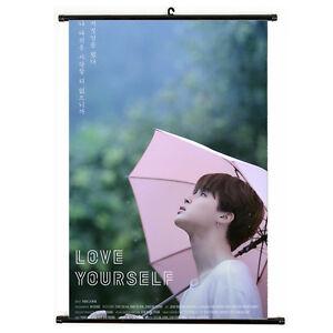 Kpop-Bangtan-Boys-JIMIN-Love-Yourself-Hanging-Painting-Art-Painting-Poster