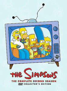 The-Simpsons-The-Complete-Second-Season-DVD-2009-4-Disc-Set-Collectors-Ed