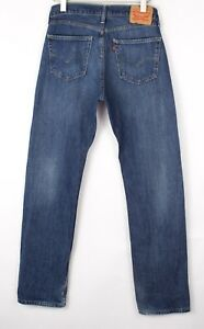 Levi's Strauss & Co Hommes 505 Droit Jambe Slim Jean Taille W32 L34