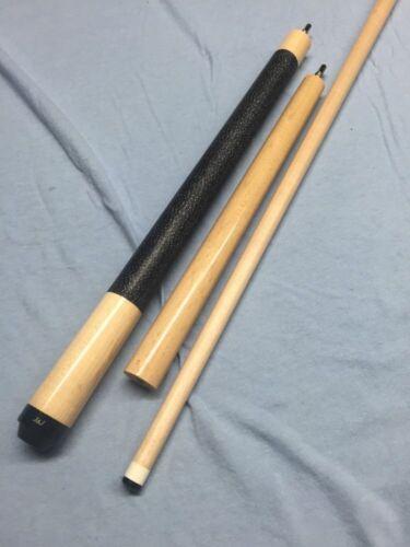 JJ Natural Birdseye Maple Jump Break Cue Stick W// Phenolic Tip /& Linen Wrap 20 z