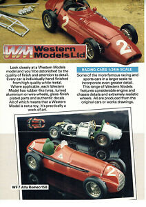 Western-1-24-Handmade-White-Metal-Scale-Models-Cars-Catalogue