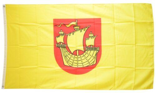 Fahne Deutschland Stadt Rerik Flagge Reriker Hissflagge 90x150cm