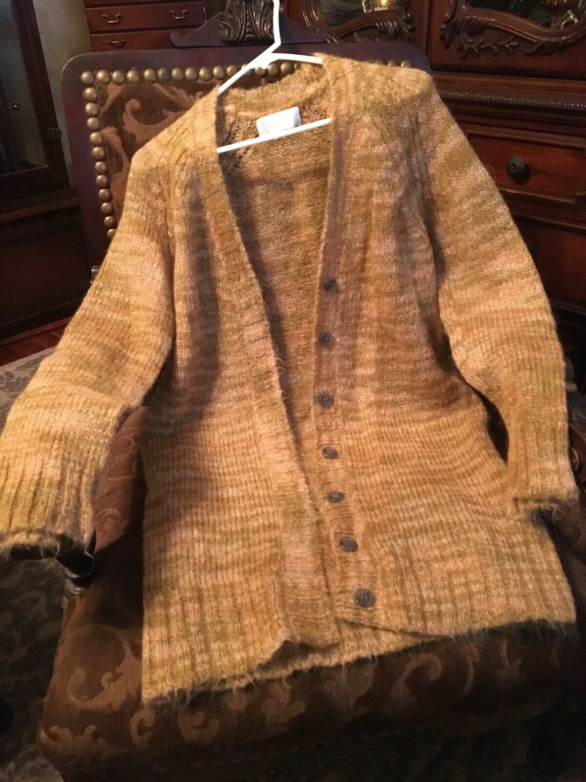 A.L.c. Multi color Wool Cardigan