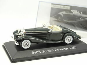 Mercedes-Benz-540K-Special-Roadster-1936-Scale-1-43-by-Altaya