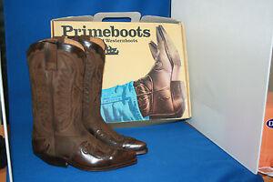 Leder Westernstiefel Neu Zu Prime Cowboystiefel Gr47 Details Boots Handmade 3ARjL54