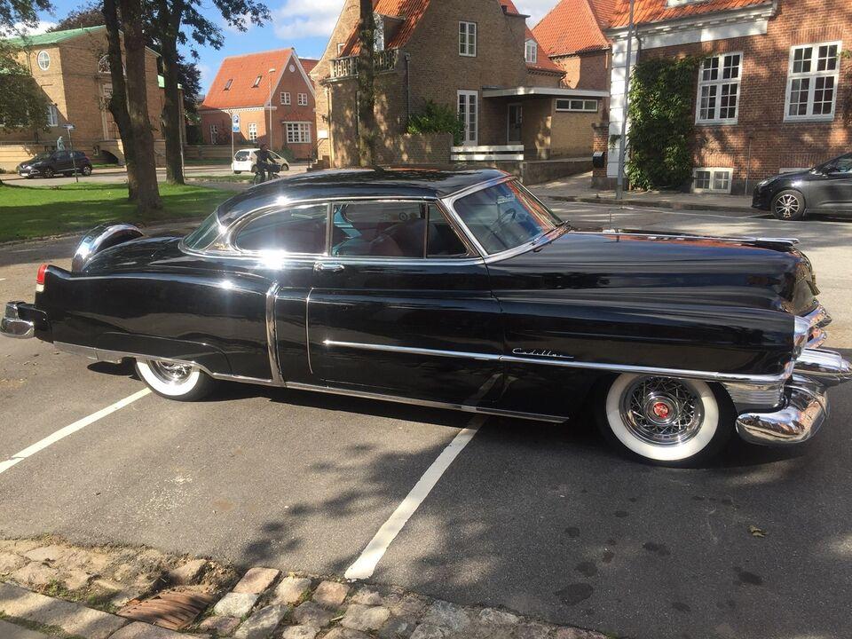 Cadillac Coupé DeVille 6,4 V8 aut. Benzin aut. modelår 1953